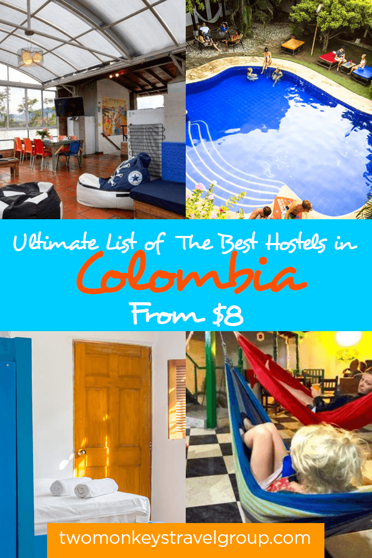 List of the Best Hostels in Colombia - From $8