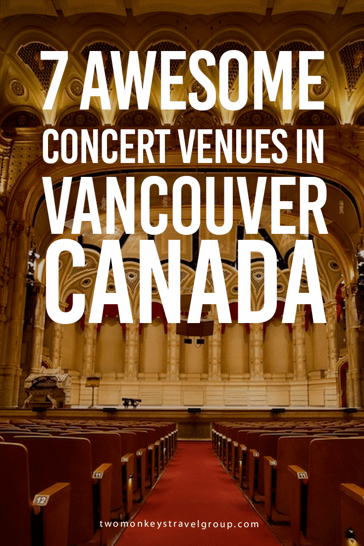 7 Awesome Concert Venues in Vancouver, Canada
