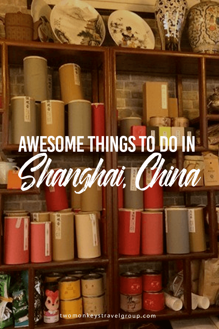 Awesome Things To Do in Shanghai, China