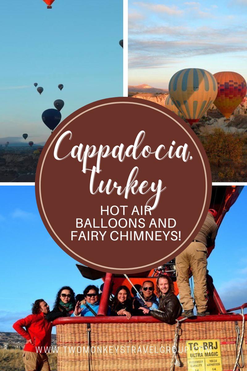 Cappadocia, Turkey Hot Air Balloons and Fairy Chimneys