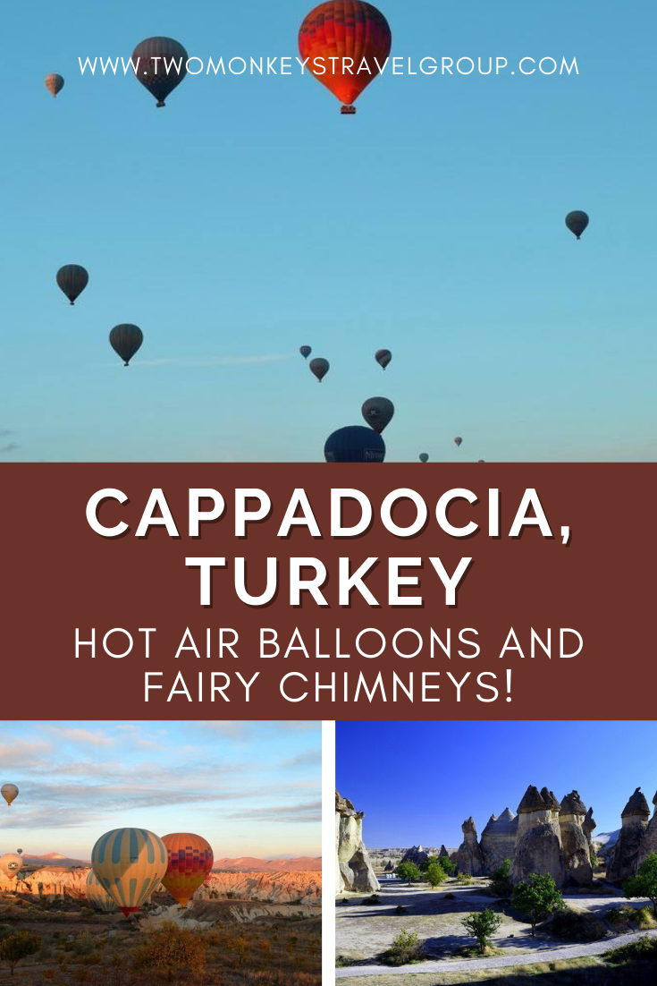 Cappadocia, Turkey Hot Air Balloons and Fairy Chimneys