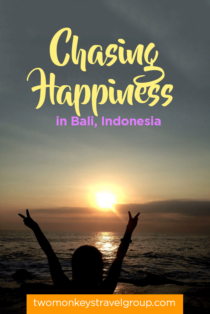 Chasing Happiness in Bali, Indonesia
