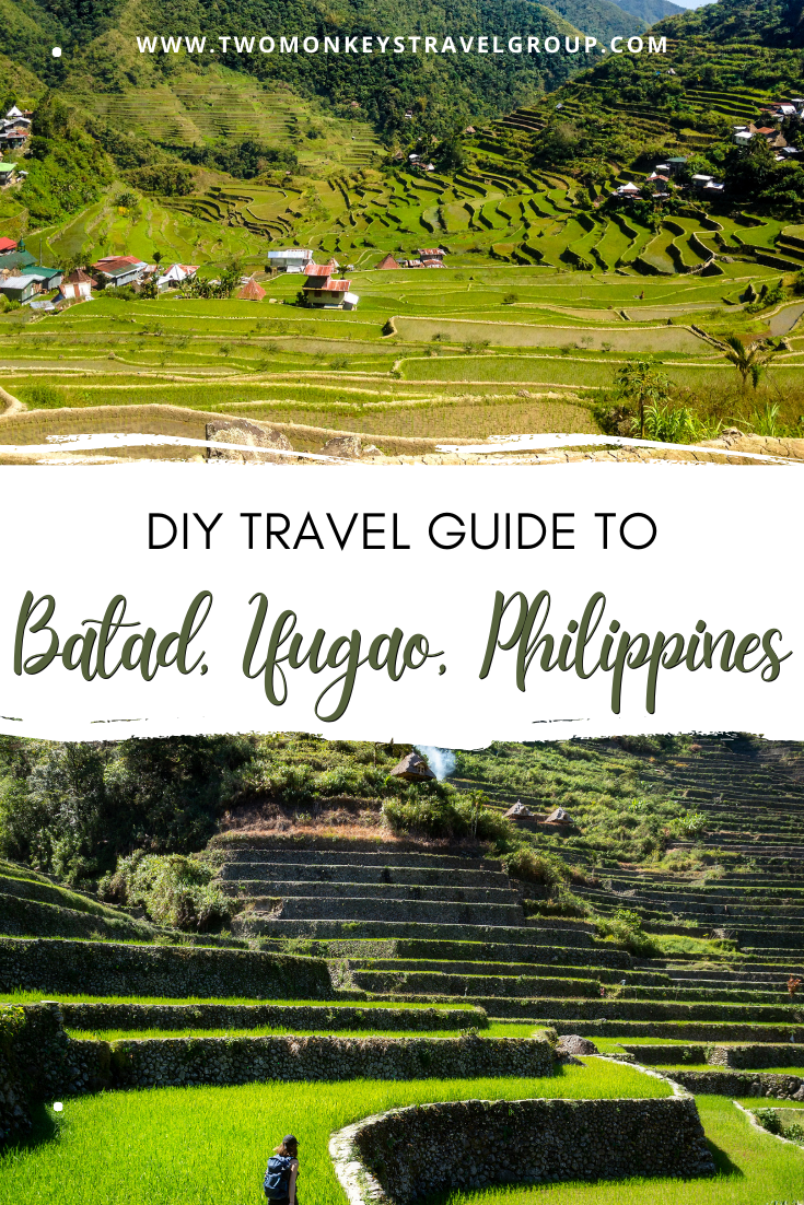 DIY Travel Guide to Batad, Ifugao, Philippines Terraces and Tappiya Falls