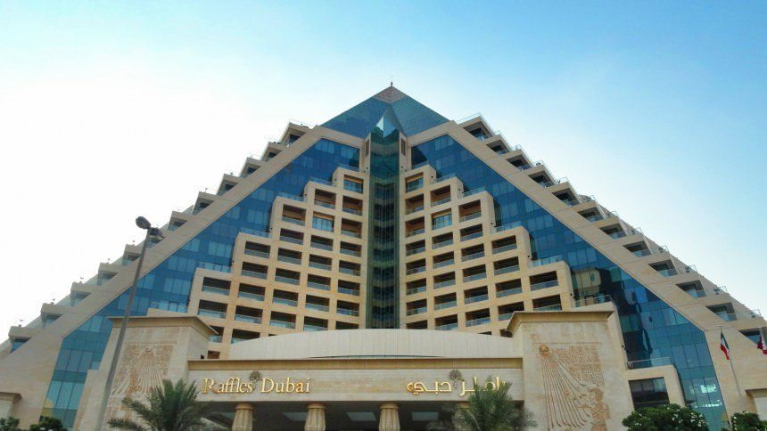 LUXURY HOTEL REVIEW RAFFLES DUBAI