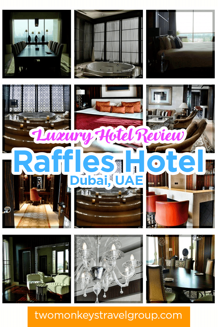 Luxury Hotel Review: Raffles Hotel, Dubai, UAE
