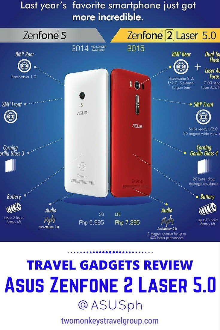 Travel Gadgets Review: Asus Zenfone 2 Laser 5.0 @ASUSph