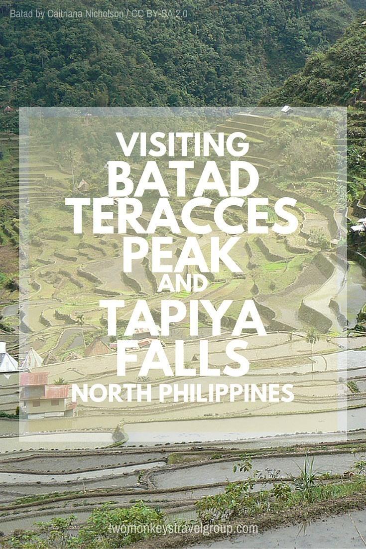 Visiting Batad Terraces peak and Tappiya Falls, North Philippines