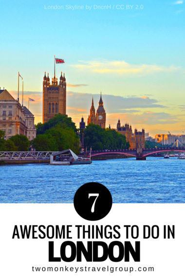 7 Awesome Things to Do In London