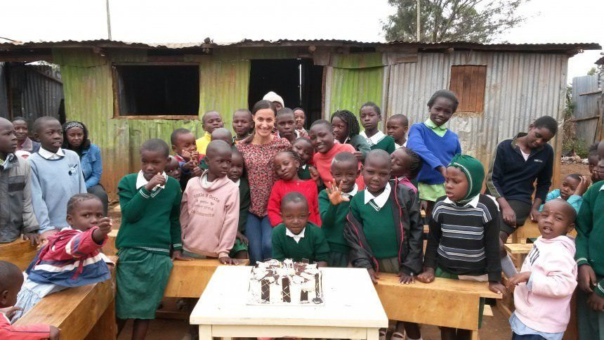 Voluntourism in Kenya Celebrating My Birthday with Strangers