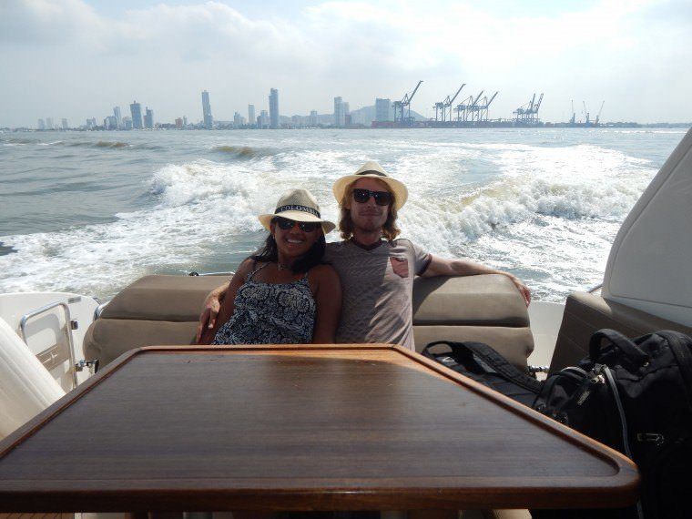 Yacht Trip in Cartagena Colombia