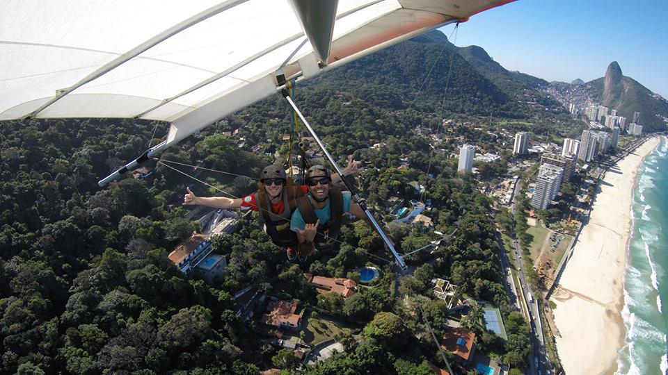 hanggliding in Rio de Janeiro