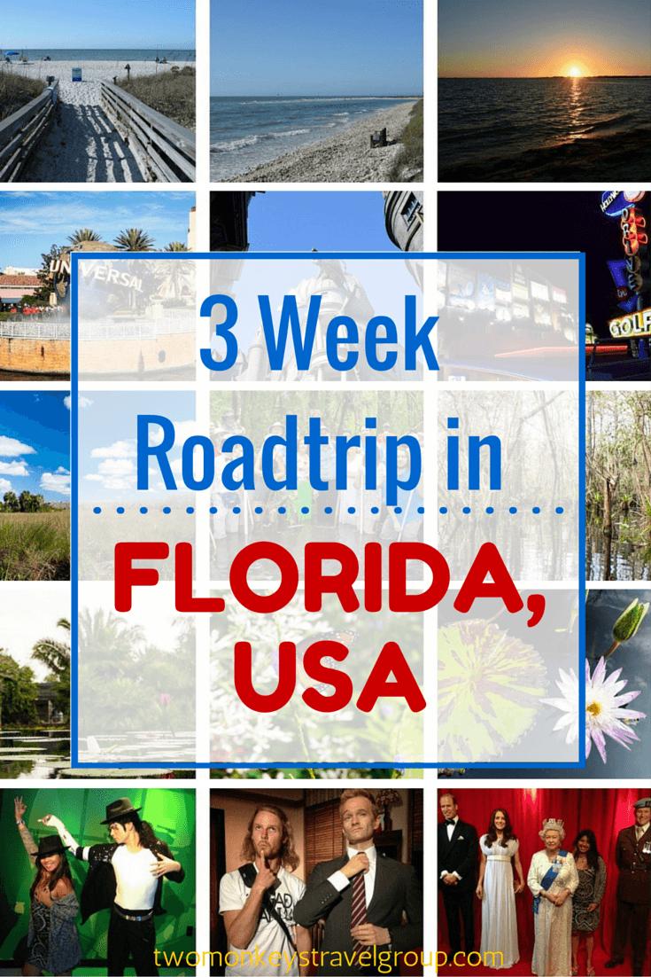 3 Week RoadTrip in Florida, USA