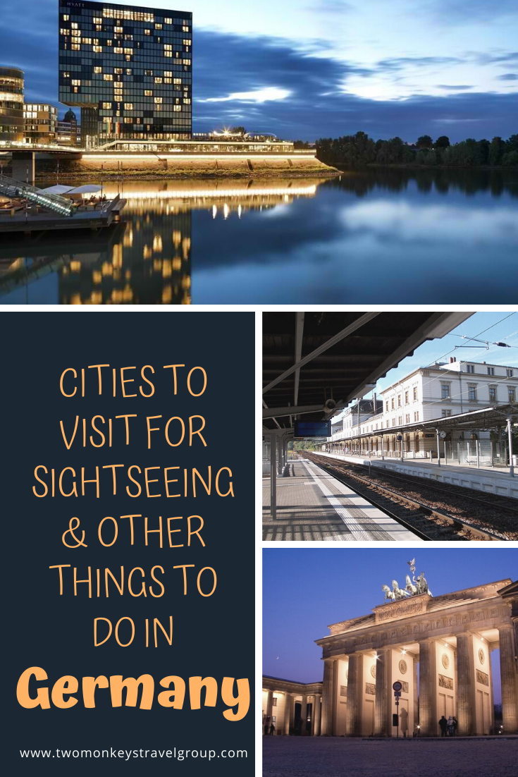 5 Cities to Visit for Sightseeing & other things to do in Germany @GermanyTourism