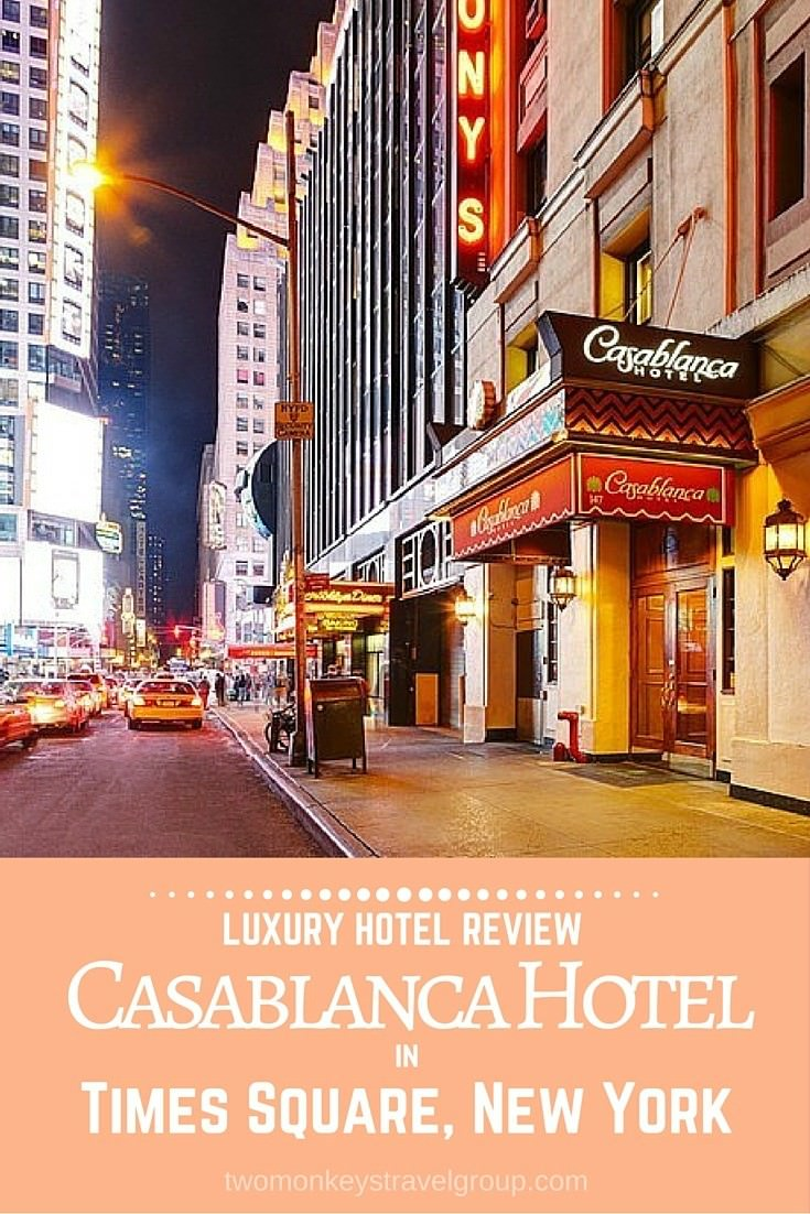 Luxury Hotel Review Casablanca Hotel In Times Square New York