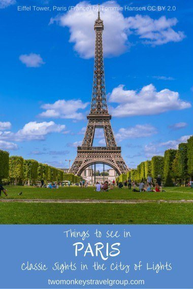Two Monkeys Travel - France - Things to see in Paris