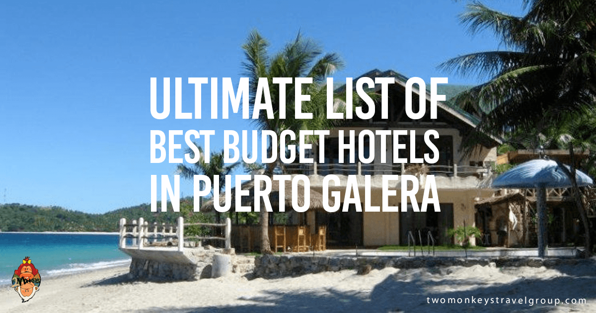 List Of The Best Budget Hotels In Puerto Galera Philippines Tourismphl