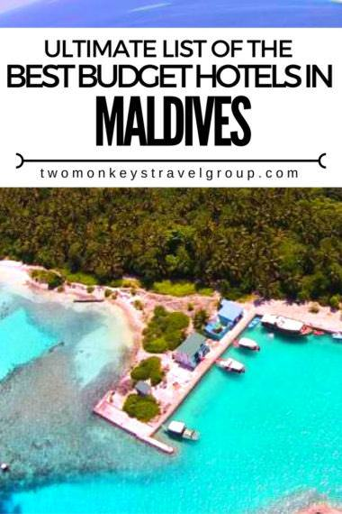List Of The Best Budget Hotels In The Maldives Updated For 2019