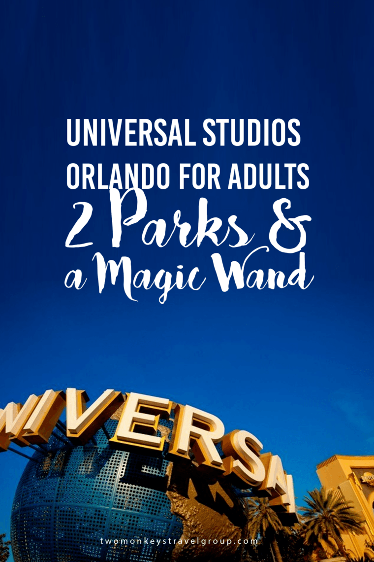 UNIVERSAL STUDIOS PARK ORLANDO FOR YOUNG ADULTS – 2 Parks, Harry Potter and the Magic Wand