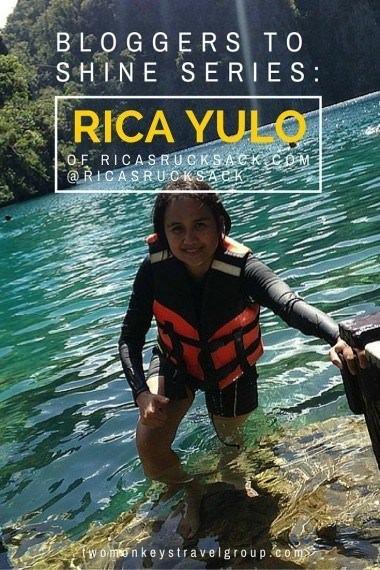 Bloggers to Shine Series: Rica Yulo of RicasRucksack.com