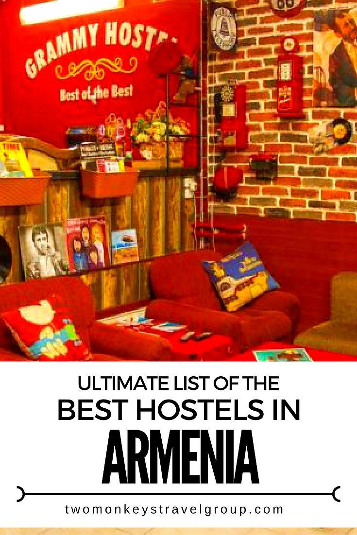 Ultimate List of The Best Hostels in Armenia