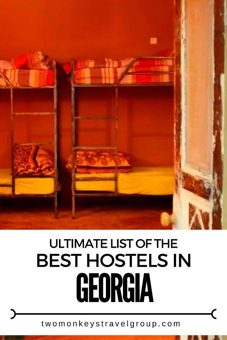 Ultimate List of The Best Hostels in Georgia