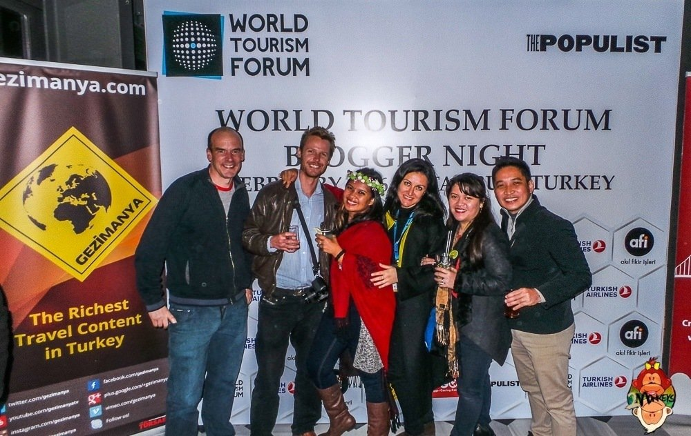 World Tourism Forum in Istanbul with Two Monkeys Travel Group