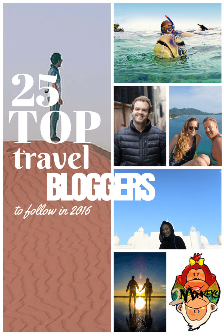 25 top travel bloggers to follow in 2016