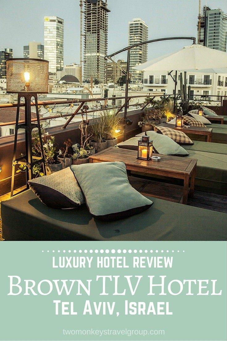 Brown TLV Hotel, Tel Aviv, Israel