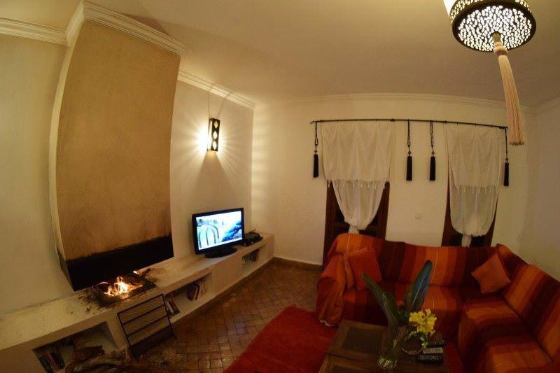 Living Room at Rebali Riad Morocco Hotel Review