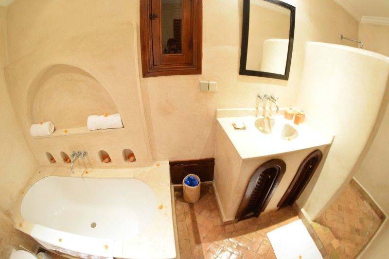 Mom's Bathroom at Rebali Riads Morocco Hotel Review