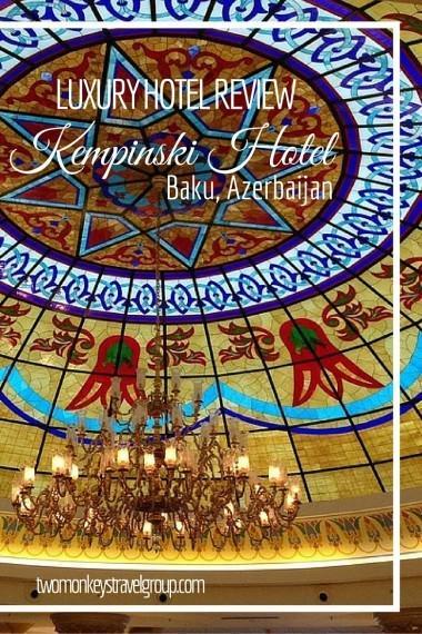 Two Monkeys Travel - Asia - Azerbaijan - Baku - Kempinski