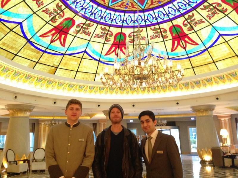 Two Monkeys Travel - Asia - Azerbaijan - Baku - Kempinski 12