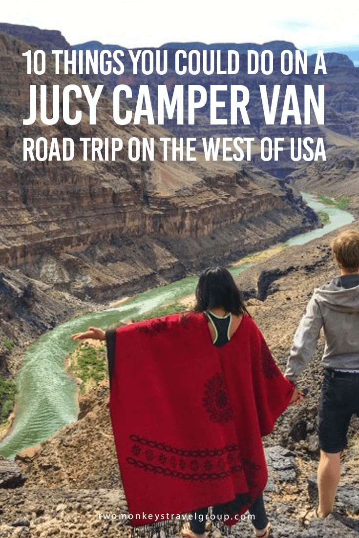 10 Things You Could Do on a JUCY Camper Van Road Trip on the West of USA