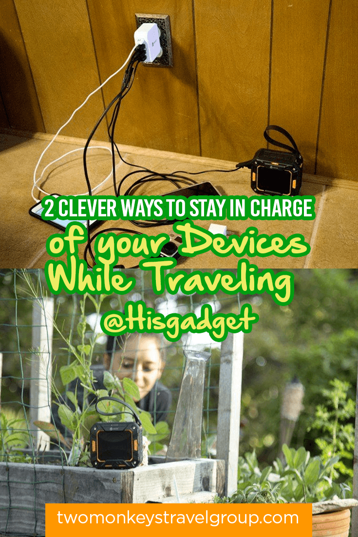 2 Clever Ways to Stay in Charge of your Devices While Traveling