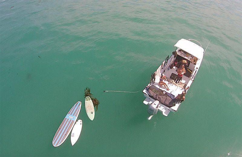 450 Dive Boat