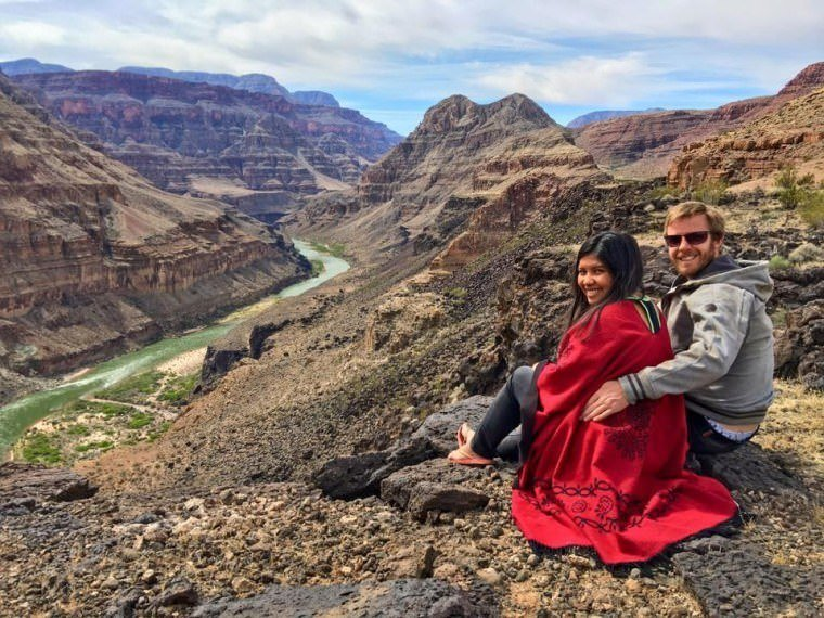 Hilton Mancation in San Diego California - Grand Canyon Tour Kach and Jonathan