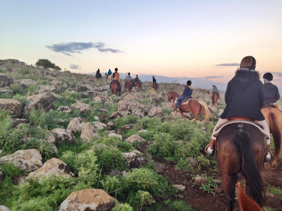 Israel Trip for Filipinos - Horseback Riding near the lake where Jesus walked
