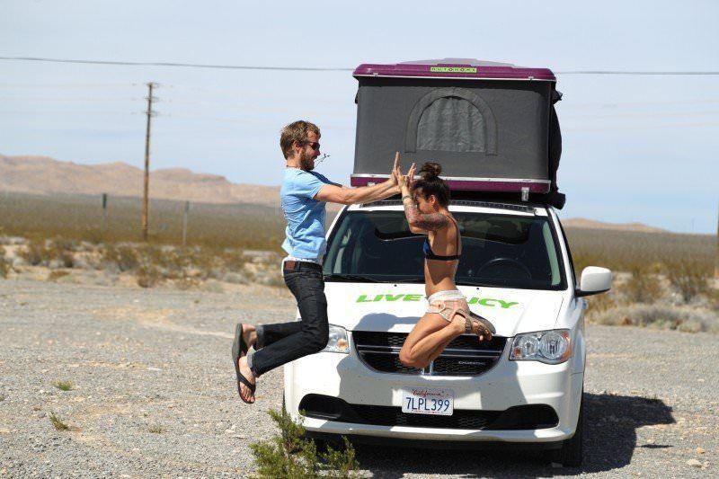 Jucy World Road trip in USA West Coast