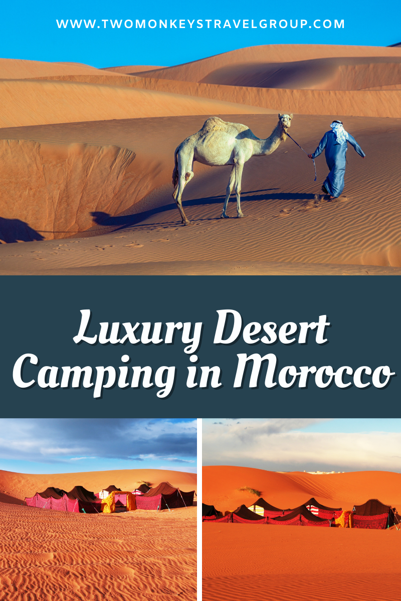 Luxury Desert Camping with Sahara Experience, Morocco #MuchMorocco