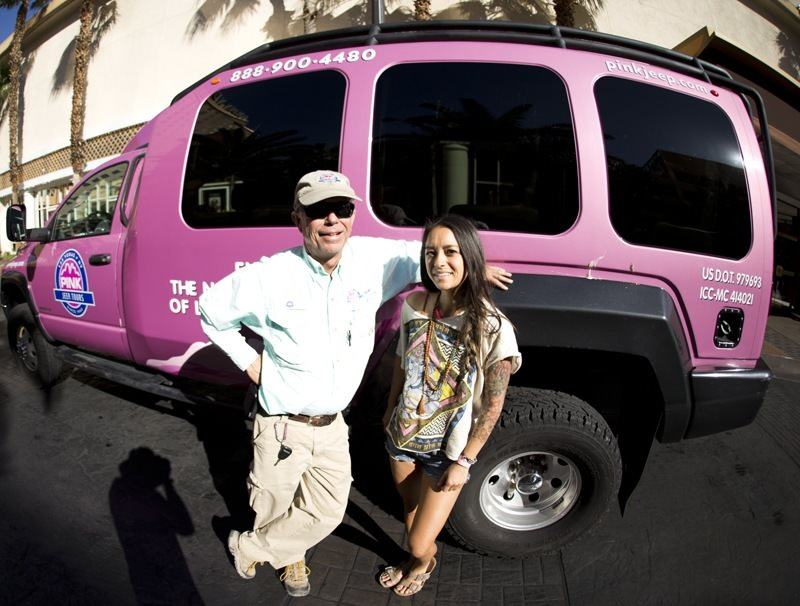 Pink Jeep Tour tour guide tom