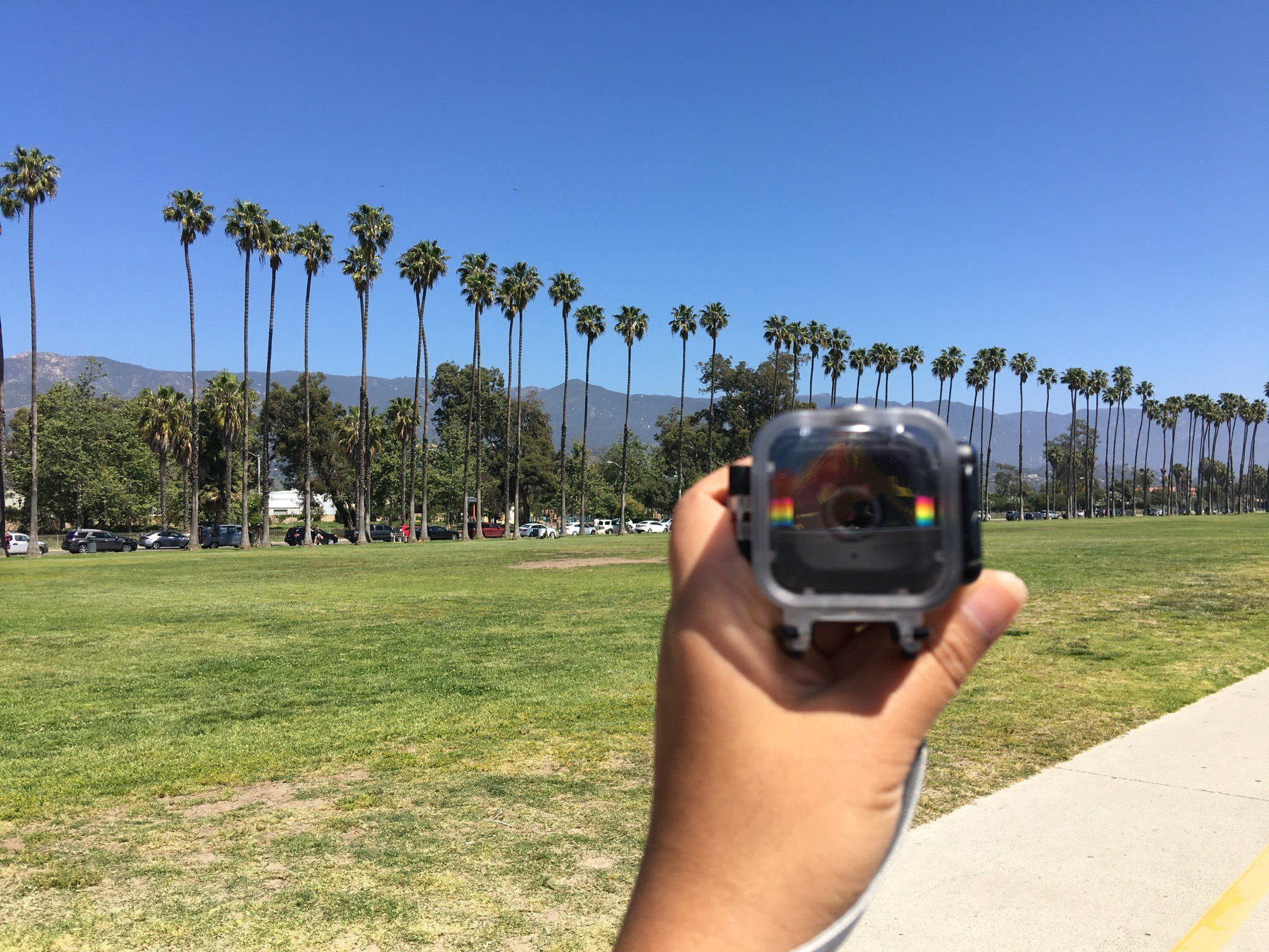 Polaroid Cube Camera - Travel Gadgets of Two Monkeys Travel