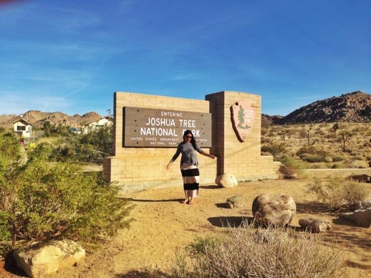 Road Trip in USA - our first time to visit the Joshua Tree National Park