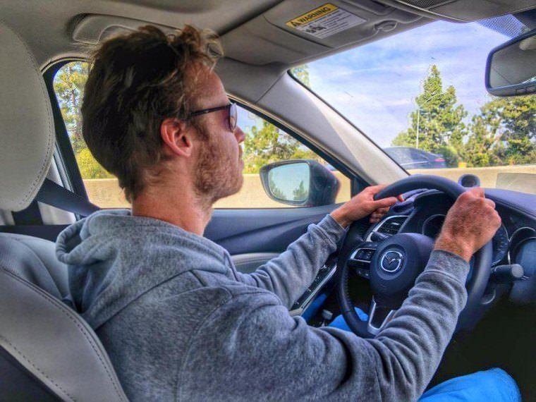 Road Trip in USA - testing the Mazda 6