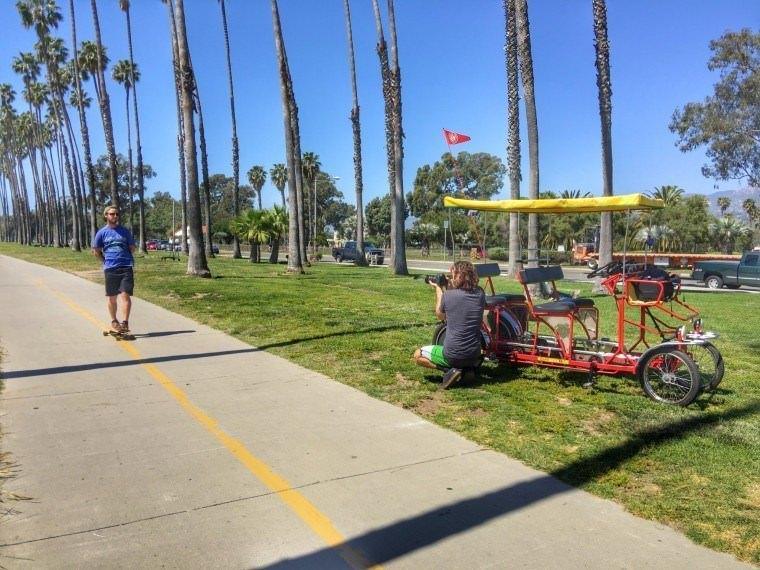 Santa Barbara California with Kach and Jonathan