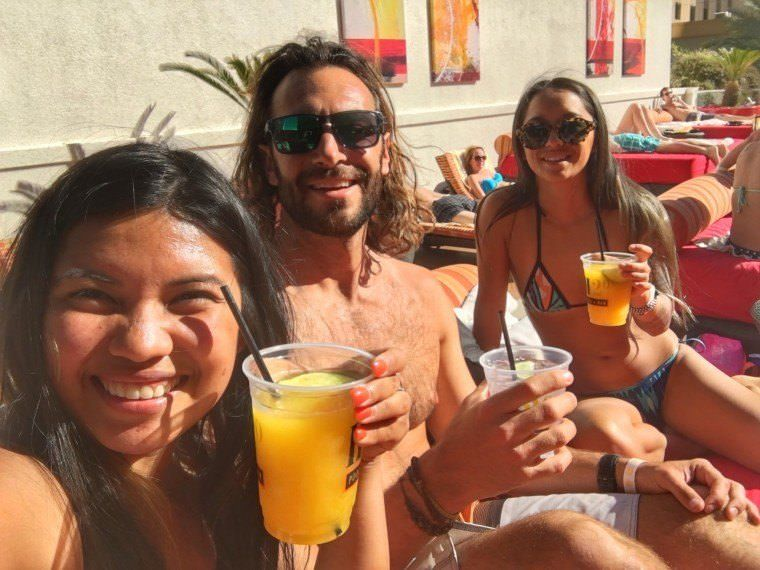 Things to do in Las Vegas - Golden Nugget Hotel Rooftop Pool