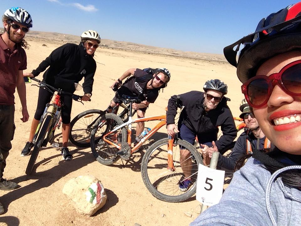 Travel to Israel for Filipinos - Cycling in Negev Desert