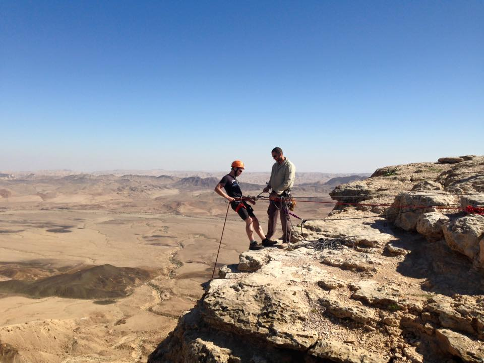 Travel to Israel for Filipinos - Rappelling in Israel