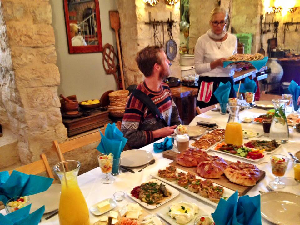 Travel to Israel for Filipinos - Yummy breakfast
