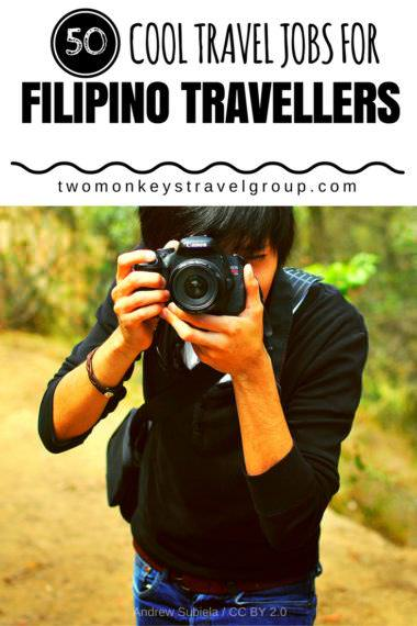 50 Cool Travel Jobs For Filipino Travellers