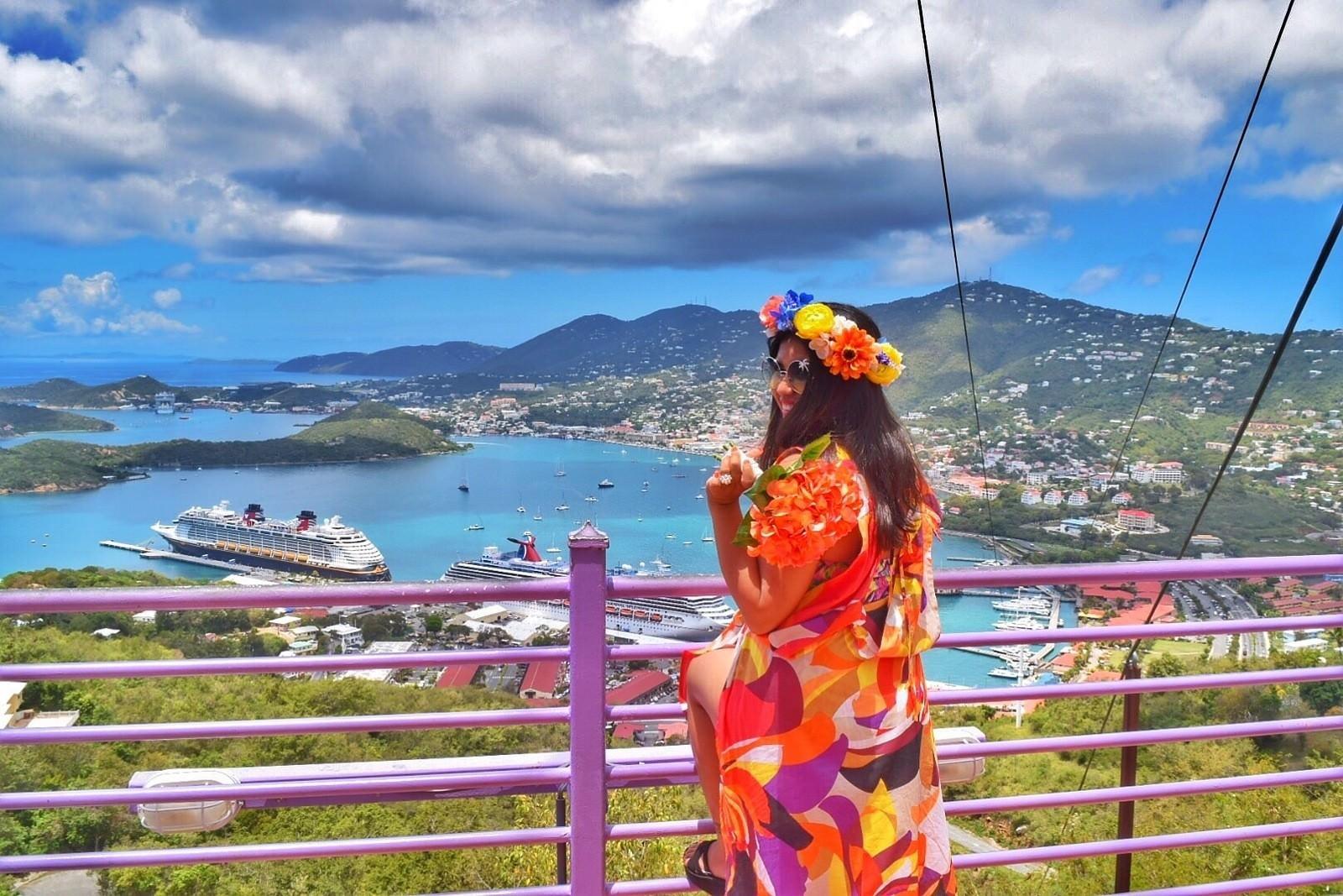 US Virgin Islands - Carnival Splendor Cruise -Caribbean Trip Kach and Jonathan